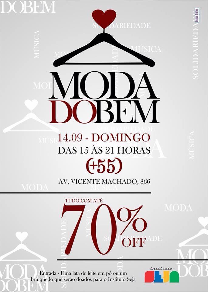Bazar Moda do Bem - Marcas com até 70% de desconto em Curitiba