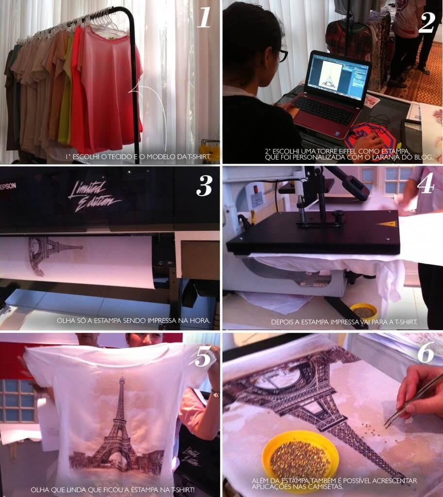 Fábrica do Silk no evento Ladies Only em Curitiba.