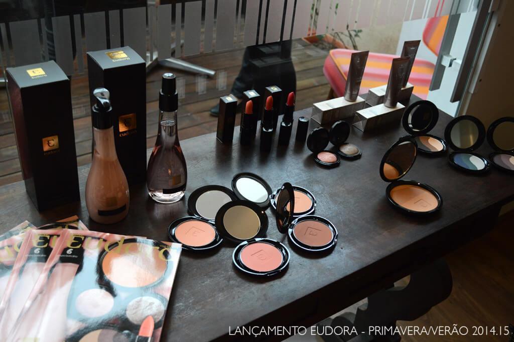Lançamento da coleção de maquiagens Primavera/Verão 2015 da Eudora