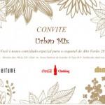 Convite: Lançamento de Alto Verão 2015 da Urban Mix