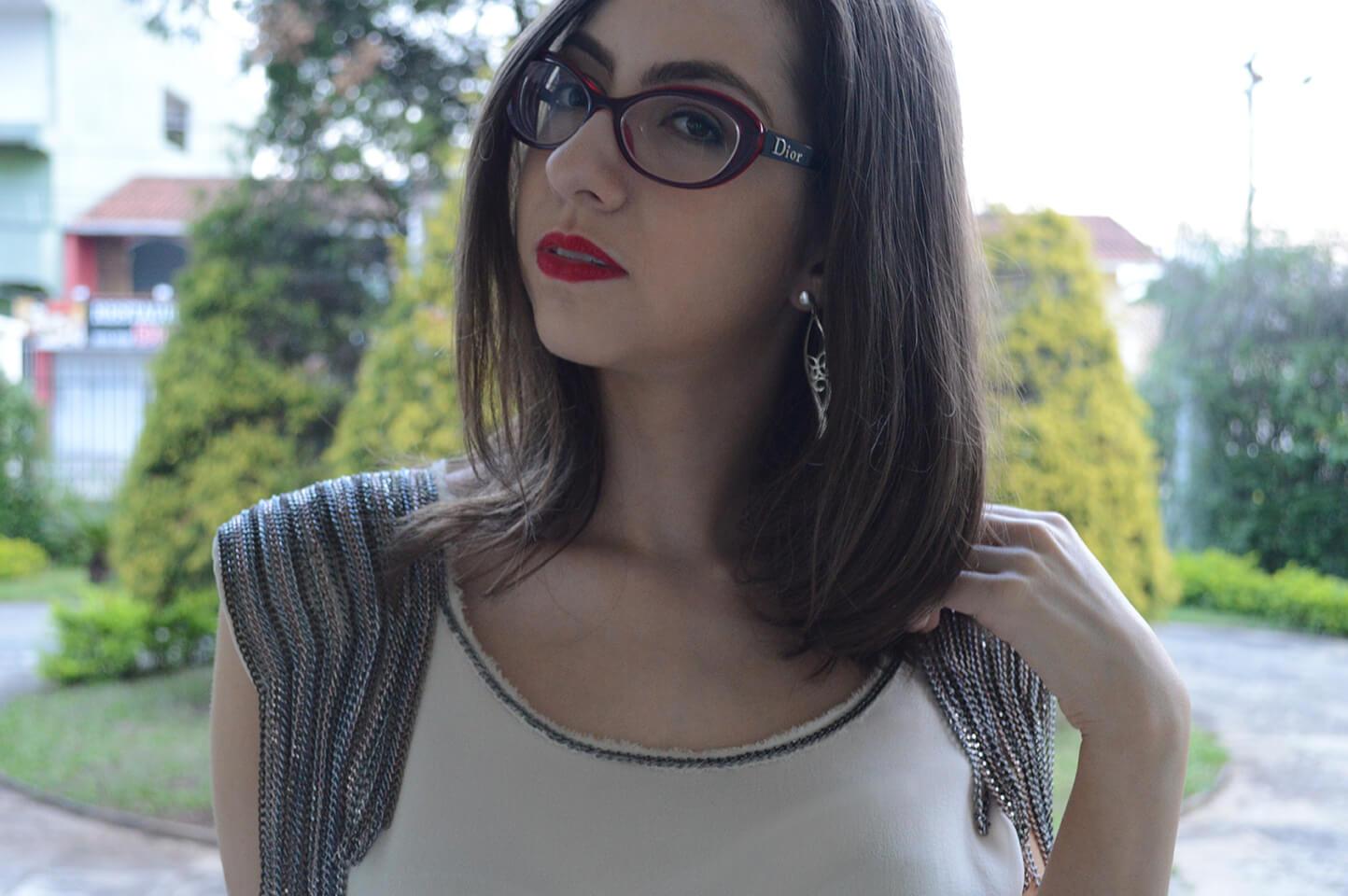 Meu novo corte de cabelo: Curto e assimétrico.