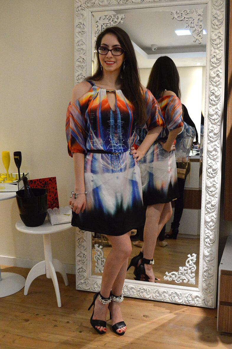 Look com vestido de Verão 2015 da Dimy