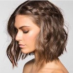 Inspiração: 5 penteados para cabelos curtos/altura dos ombros