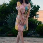 Look do dia: Vestido estampado floral Dimy para o Verão