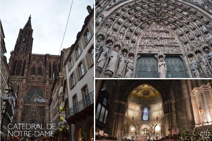 Ponto Turístico em Strasbourg: Catedral de Notre Dame de Strasbourg