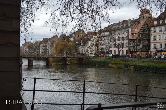 Estrasburgo fica na região da Alsácia na França