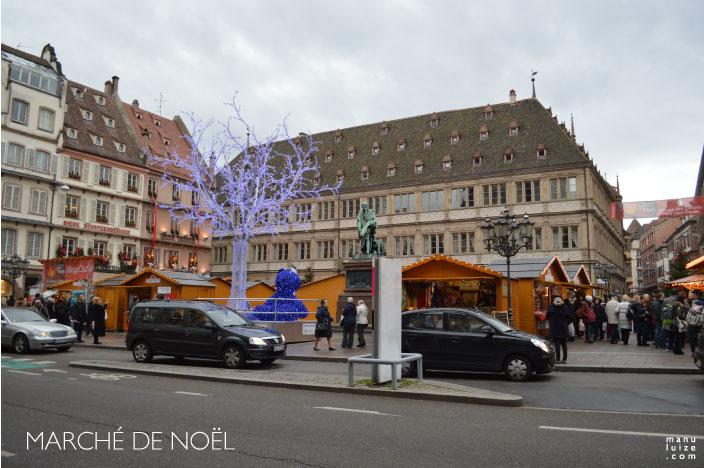 Mercado de Natal em Strasbourg na França