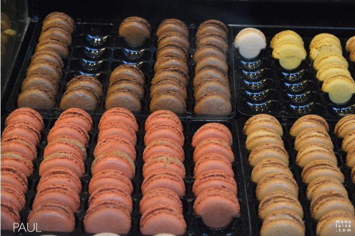 Macarons da Paul em Strasbourg na França