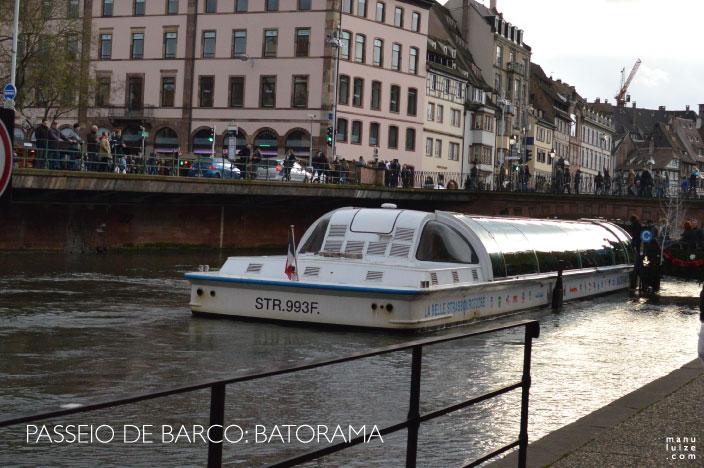Passeio de Barco em Estrasburgo na França