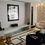 Decoração de sala de estar (living room)