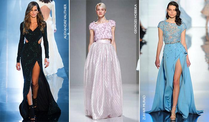 Vestidos de festa moda outono 2015