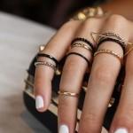 Como usar mix de anéis, é tendência!
