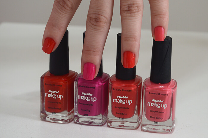 Swatch dos Esmaltes Panvel Colorful