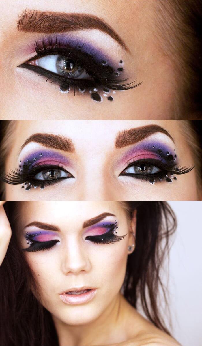 Maquiagem de carnaval por Linda Hallberg