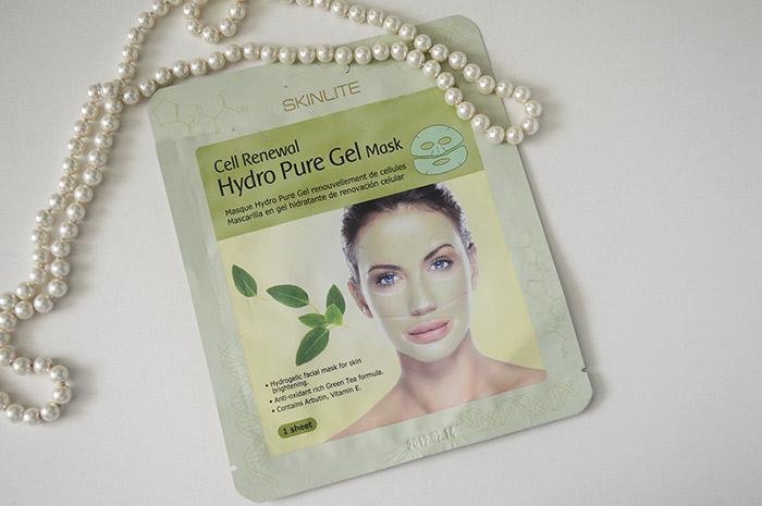 Mascara facial asiática descartável da Skinlite