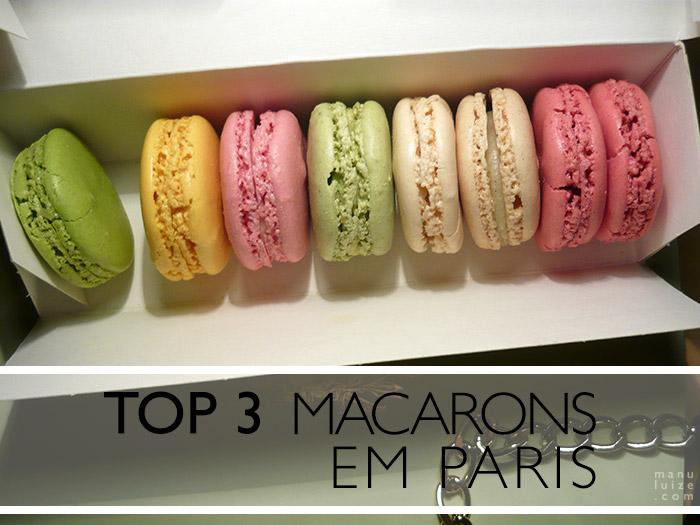 Onde comprar os melhores macarons de Paris