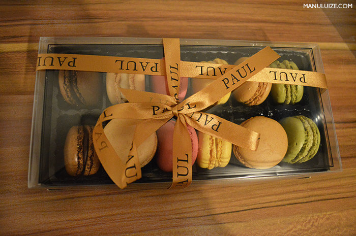 Macarons Paul em Paris