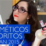 Cosméticos Favoritos de Janeiro 2015 (Vídeo)