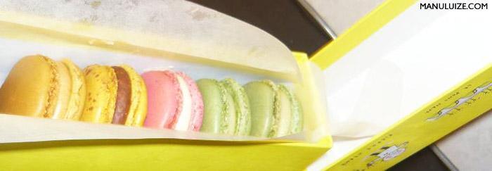 Macarons Pierre Hermé em Paris - Onde encontrar