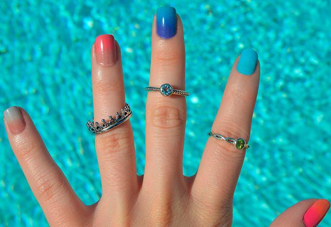 Tutorial de Unhas Decoradas: Ombré Nails