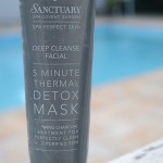 Máscara Facial: 5 Minute Thermal Detox Mask Sanctuary Spa