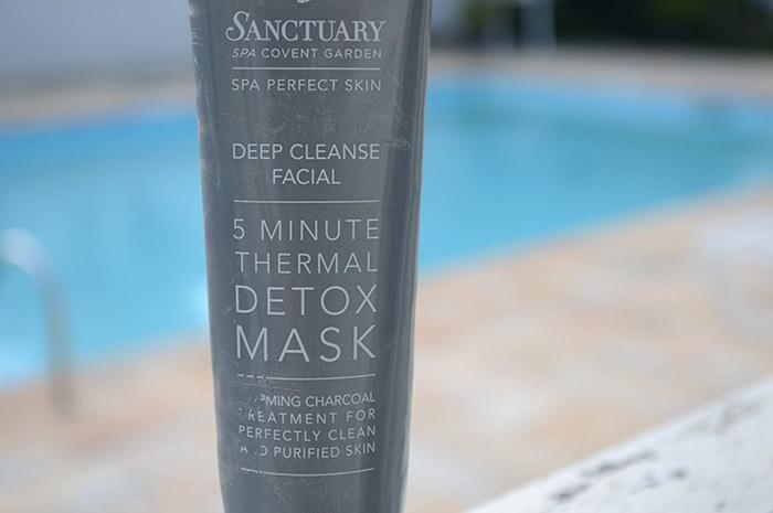 Máscara facial: 5 minute thermal Detox Mask - Sanctuary Spa