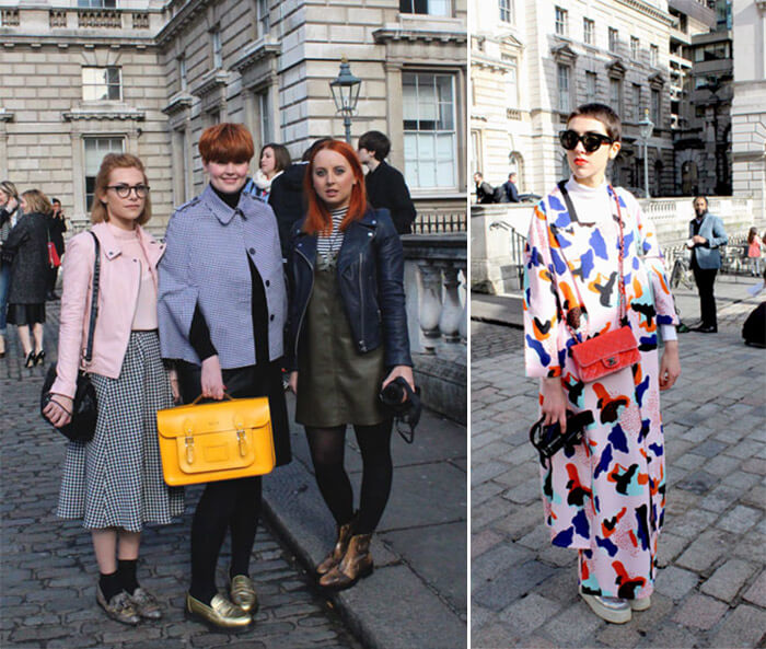 London Fashion Week AW 2015: Street Style