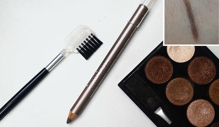 Lápis delineador para sobrancelhas da Panvel (resenha)
