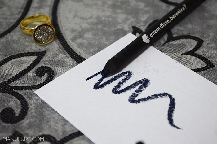 Lápis Azuluxo (marinho) da Quem Disse Berenice
