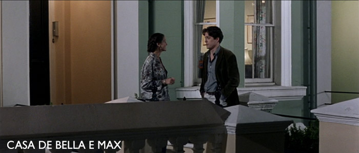 Casa de Bella e Max no filme Notting Hill
