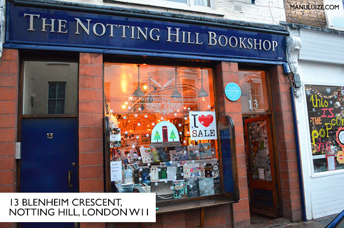 The Notting Hill Bookshop - Londres