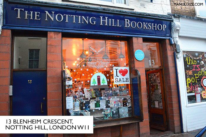 Tour em Notting Hill (Londres) onde foi gravado o filme | ML