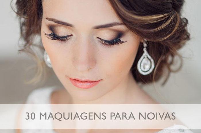 Maquiagem para noivas: 30 ideias