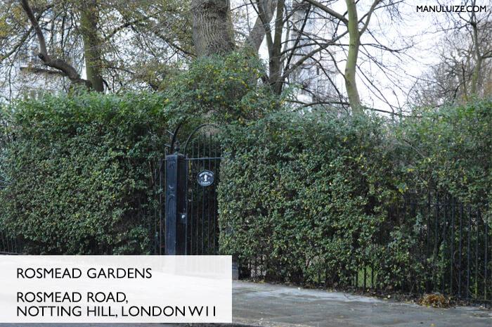Rosmead Gardens em Londres