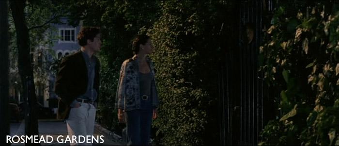 """Rosmead Gardens no filme """"Notting Hill"""""""