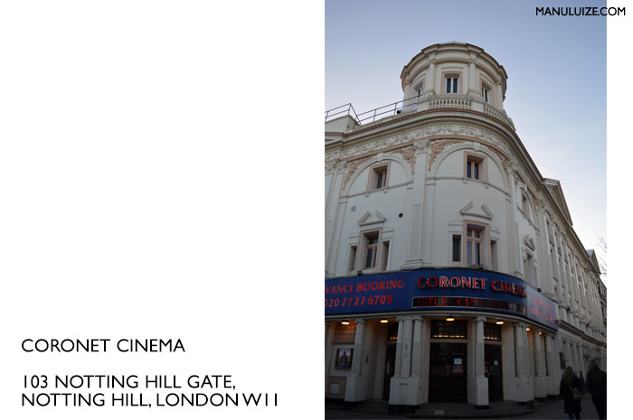 Coronet Cinema em Nottinh Hill