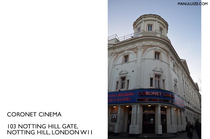 Coronet Cinema em Nottinh Hill