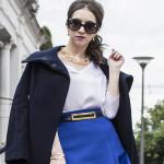 Look do dia: Saia e casaco de lã
