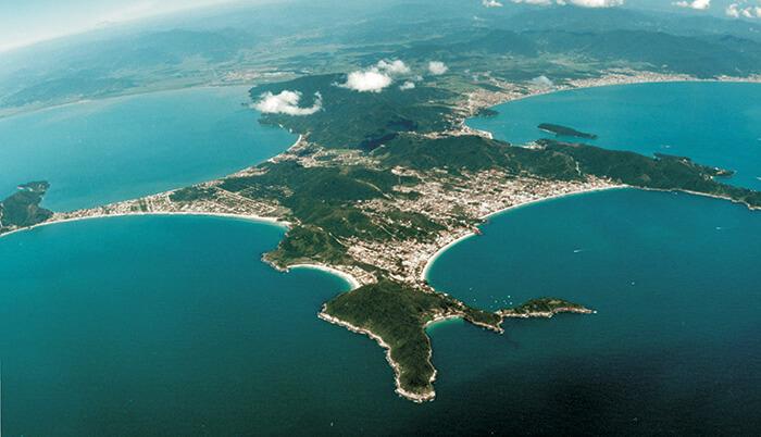Península de Bombinhas SC