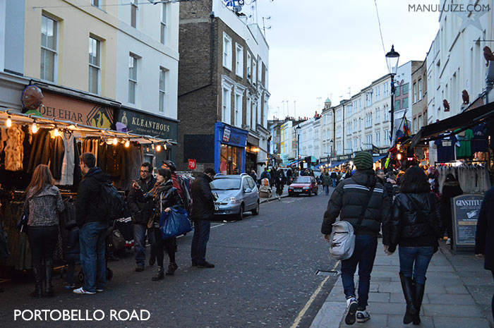 Portobello Road Market - Londres
