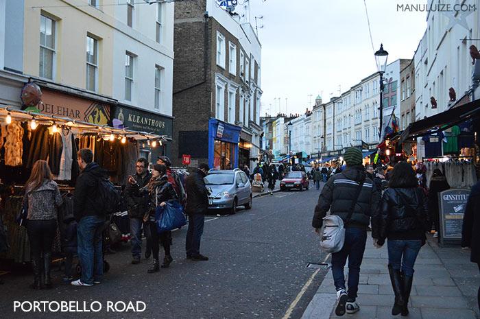 Portobello Road Market - Londres