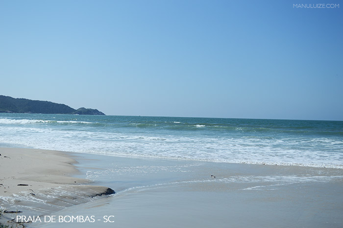 Praia de Bombas - Bombinhas SC