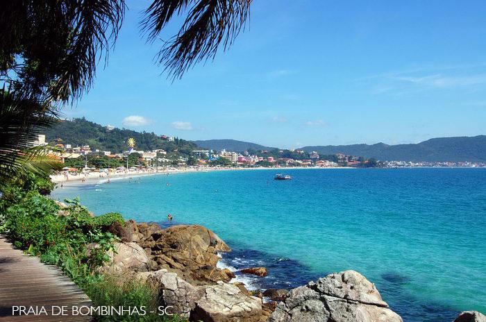 Praia de Bombinhas SC