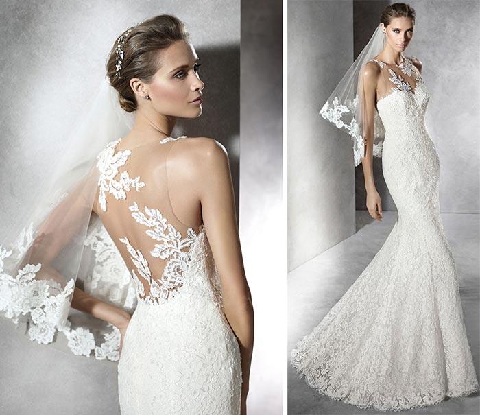 Vestido de noiva sereia Pronovias