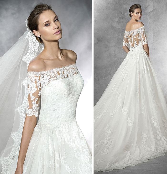 Pronovias Vestido de noiva princesa