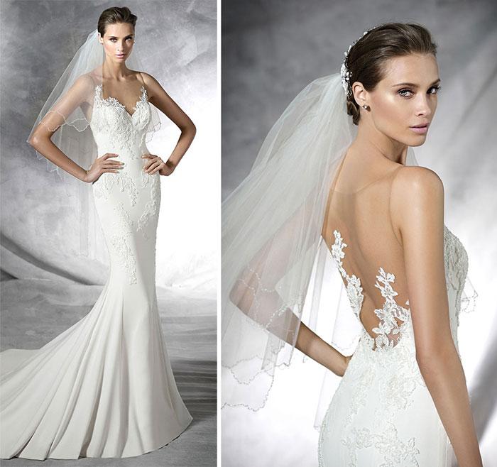 Vestido de noiva sereia com cauda lindo