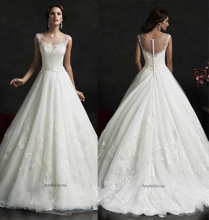 Lace Wedding Gowns 010 - Lace Wedding Gowns
