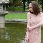 Vestidos de festa: tendência cor rosa blush
