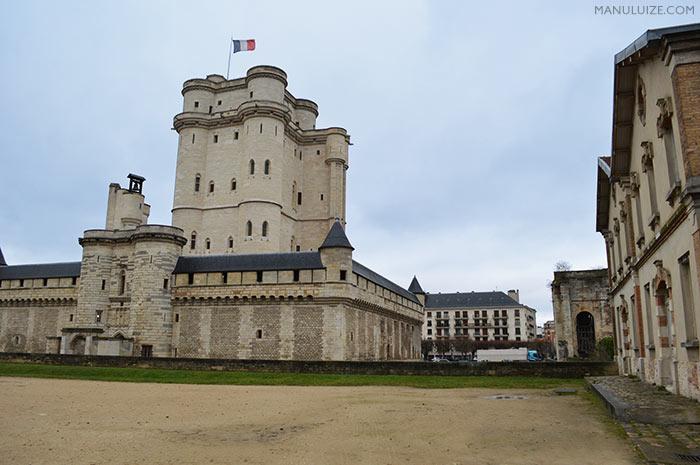 Castelo de Vincennes em Paris