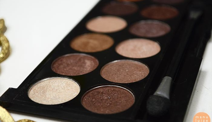 Paleta de sombras MUA: Heaven and Earth